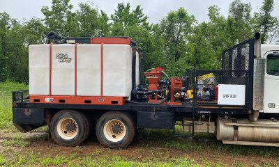 2013 Ditch Witch JT4020M1 with 2 FM13V mixers