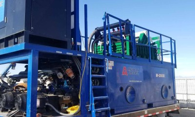 2019 American Augers M200D mud recycler