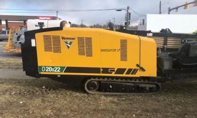 2021 Vermeer D20x22S3 directionald drill