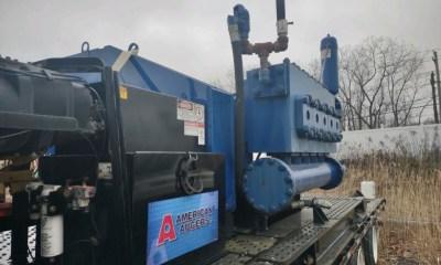 American Augers P750 mud pump