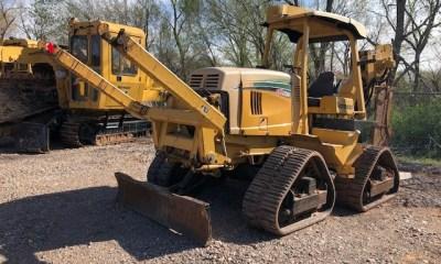 2007 Vermeer RTX1250 Quad plow