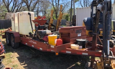 2008 Vermeer D6x6 drill with FM13v mixer and TK locator