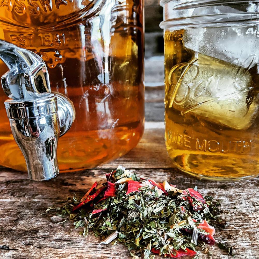 Herbal teas at Folk Apothic in McCaysville, GA