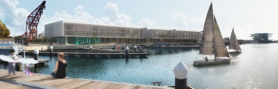 Edem, sede situada en la Marina Real de Valencia