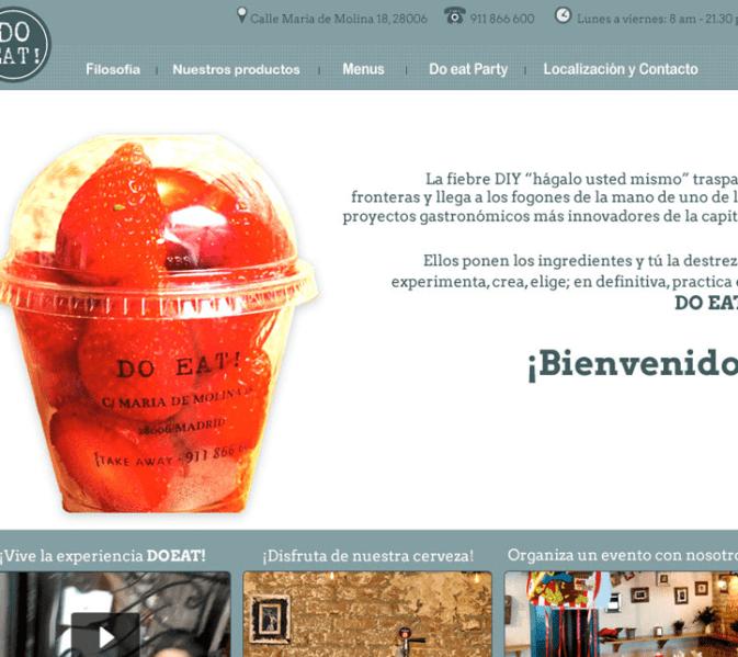 DoEat cuenta con cinco restaurantes en Madrid