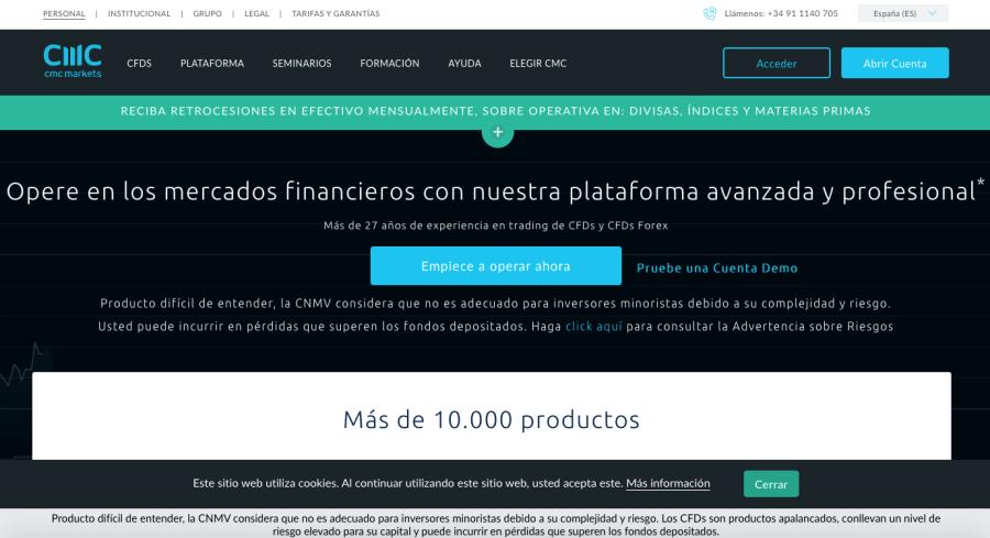 CMC Markets - CFDs