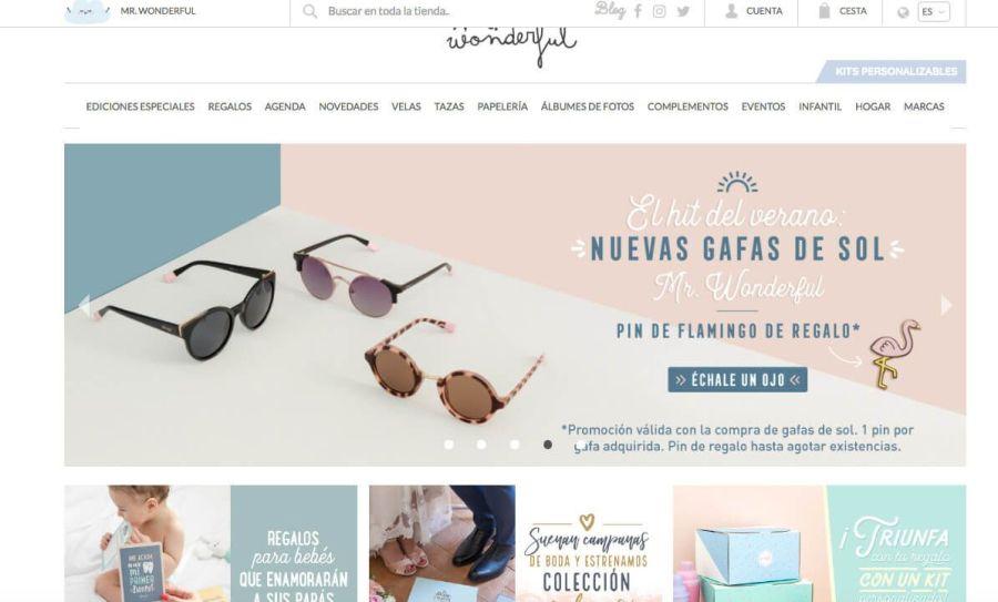Mr.Wonderful , tienda online de regalos originales