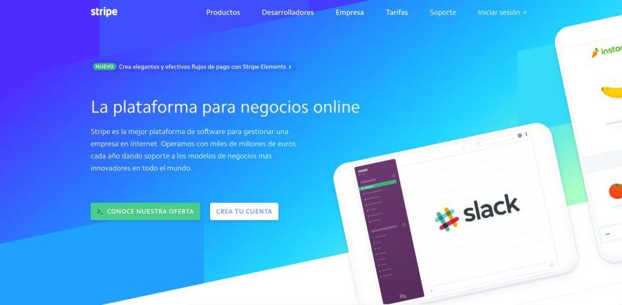 Stripe, pasarela de pago para negocios online