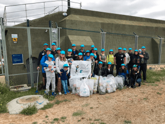 Programa de voluntariado corporativo HandsON de Suez Spain