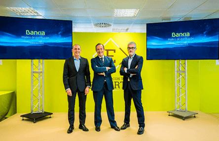 Bankia presenta su nuevo modelo de distribución.