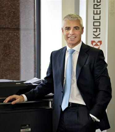 Óscar Sánchez Vicepresidente ejecutivo KYOCERA Document Solutions Europa