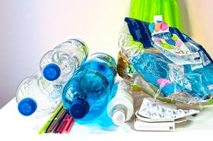 Reciclaje de residuos.
