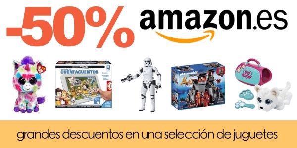 Descuentos de juguetes en Amazon.