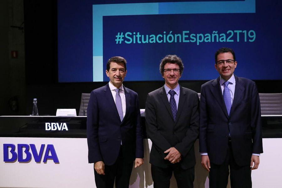 BBVA reduce la previsión de crecimiento para España.