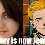 Jimmy Olsen a Woman in Man of Steel?!?! (COMICS!)