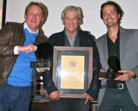 Winnaars 2013: Rob van Scheers &  Paul Verhoeven en Bor Beekman