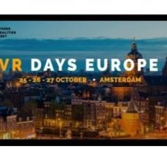 Nu 20% korting op VR Days Europe in Amsterdam