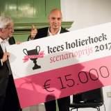 Kees Holierhoek Scenarioprijs 2017 uitgereikt aan Franky Ribbens voor Hollands Hoop