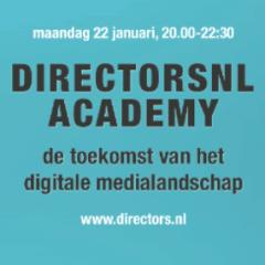 DIRECTORSNL ACADEMY – 22 januari