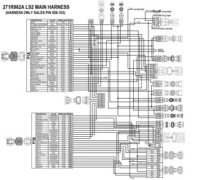 HP EFI ECU & HARNESS KITS GM LS237 (58x crank sensor