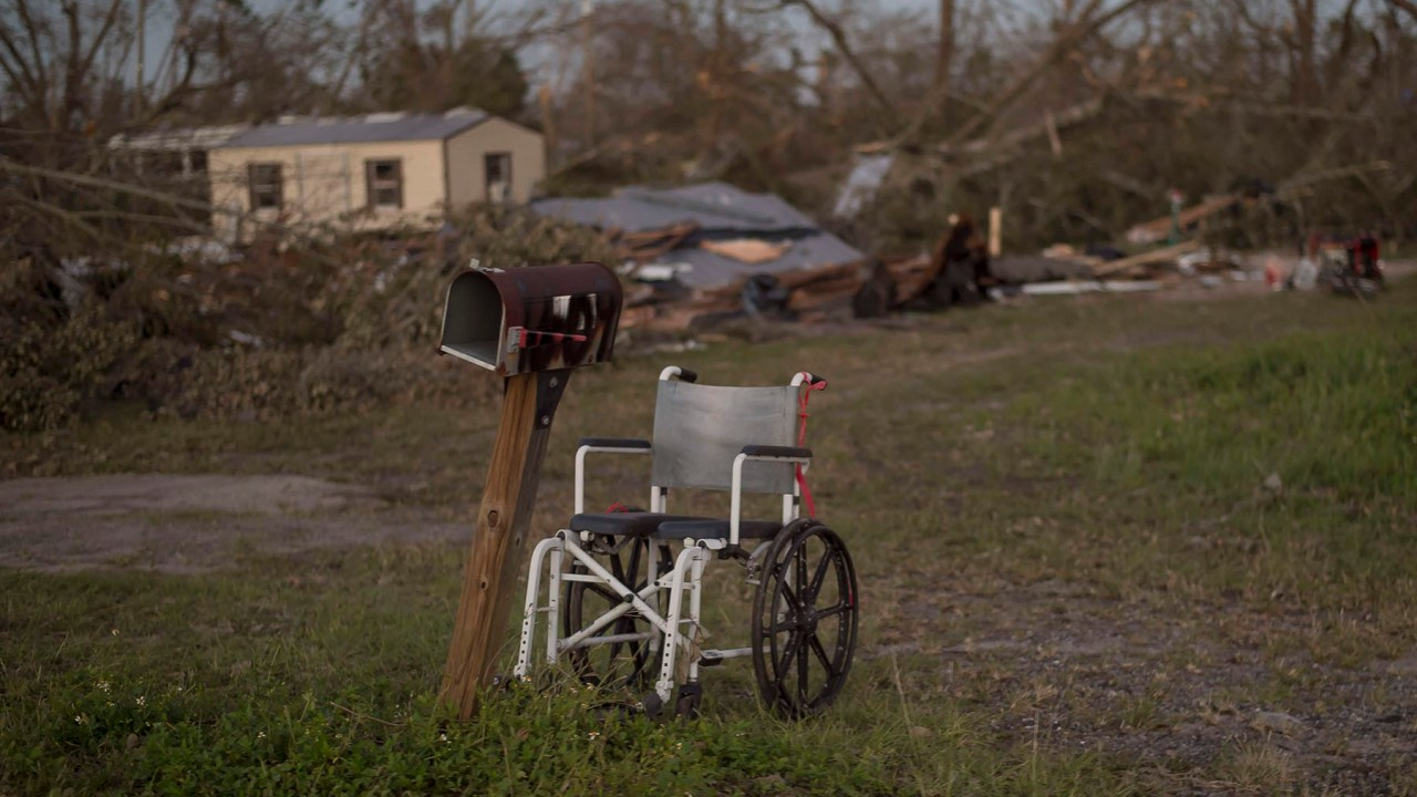 People with a disability and older adults most risk from a hurricane