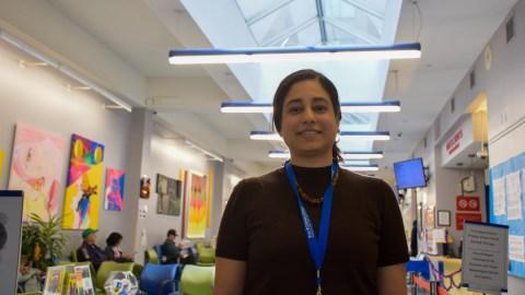 Dr. Zehra Siddiqui, medical director of Ryan Health's Chelsea-Clinton location. (Noah Smith/DIrect Relief)