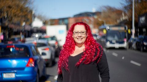 University of Auckland Professor Siouxsie Wiles (Photo Courtesy of Eve Mackay)