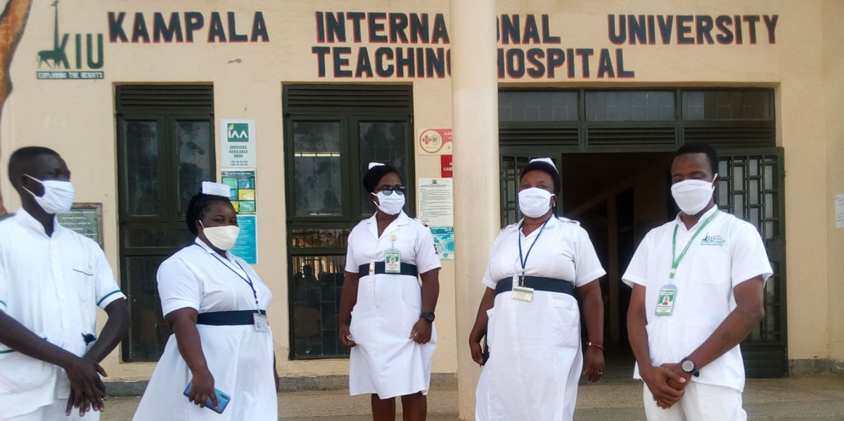 African Health Care Workers Make Reusable Masks Amid Shortage