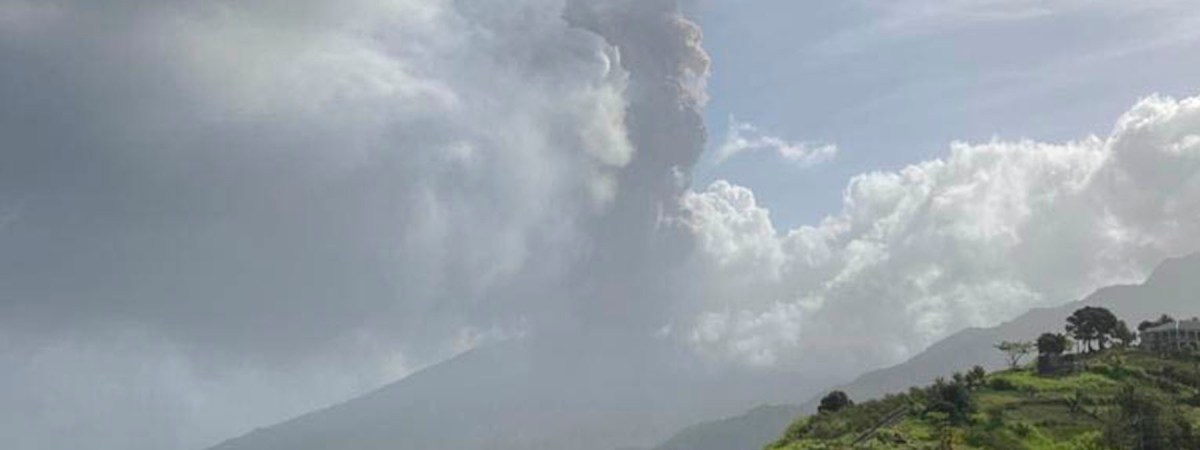 Erupting Volcano in the Caribbean Prompts Immediate Response