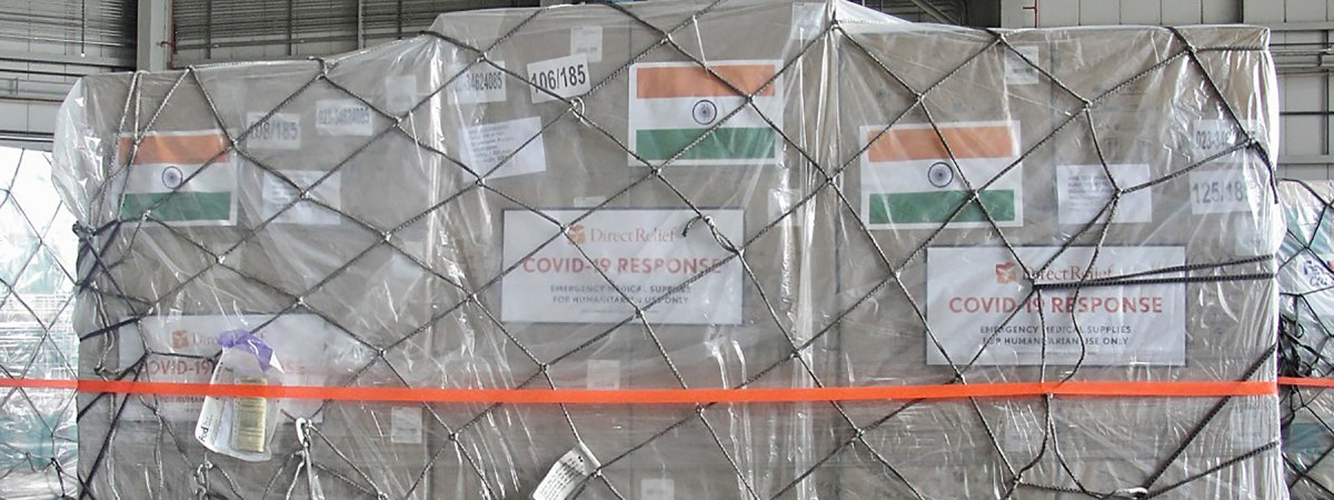 Third FedEx-Donated Humanitarian Charter Arrives in India