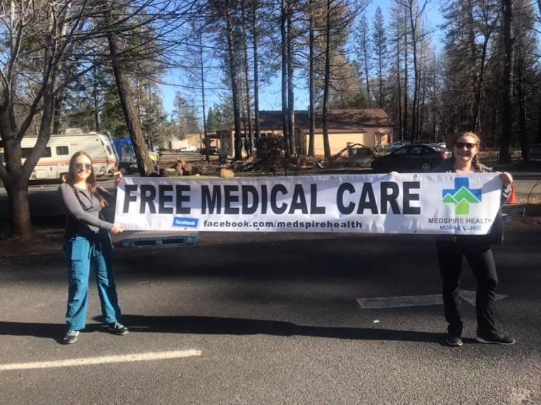 Medspire free clinic on The Ridge, April 29. 2019. (Photo Courtesy of Medspire Health)