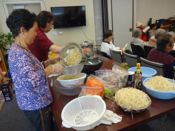 AHS cooking class