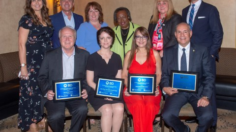2018 award winners were honored in Orlando, Florida, on