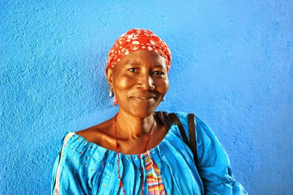 Fanta is a community health worker at the Wellbody Clinic.