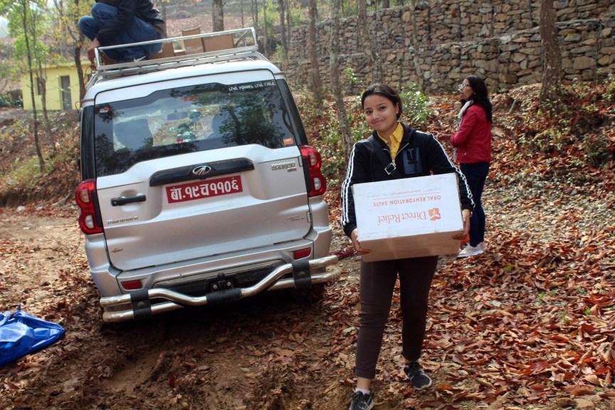 (Photo courtesy of Mountain Heart Nepal)
