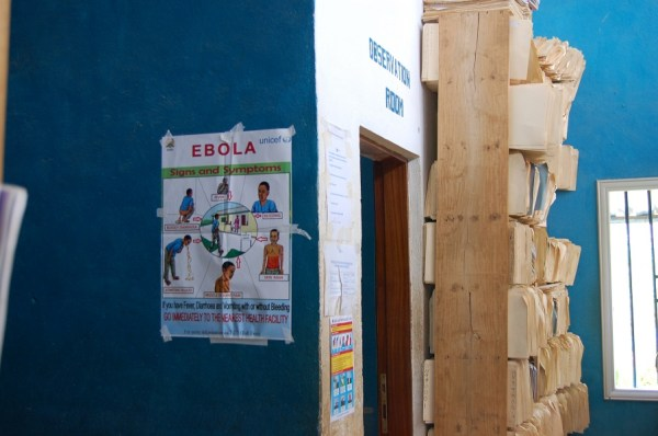 Ebola information health center