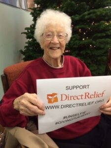 106 Year Old Edythe Giving Tuesday