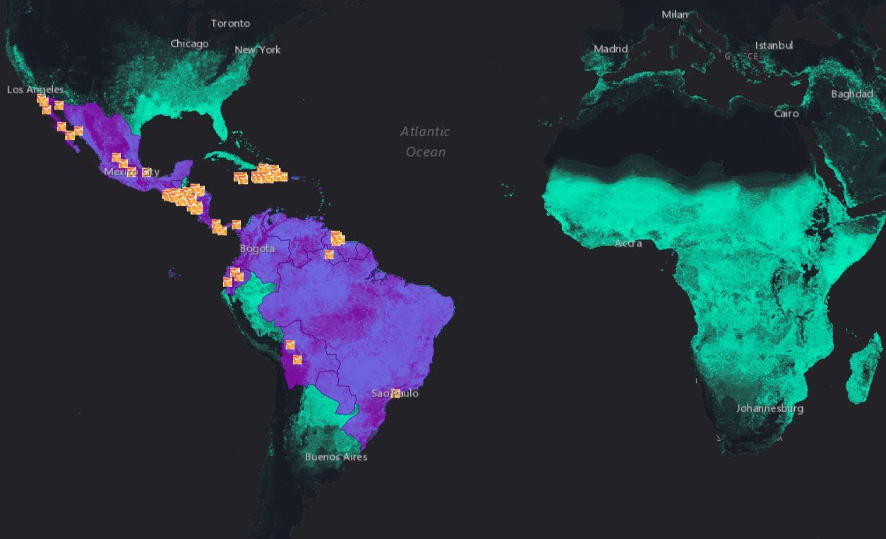 Zika Virus Outbreak | Direct Relief on japanese encephalitis map, powassan virus map, yellow fever map, west nile virus map,