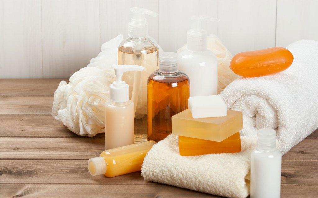 bath towel soap spa