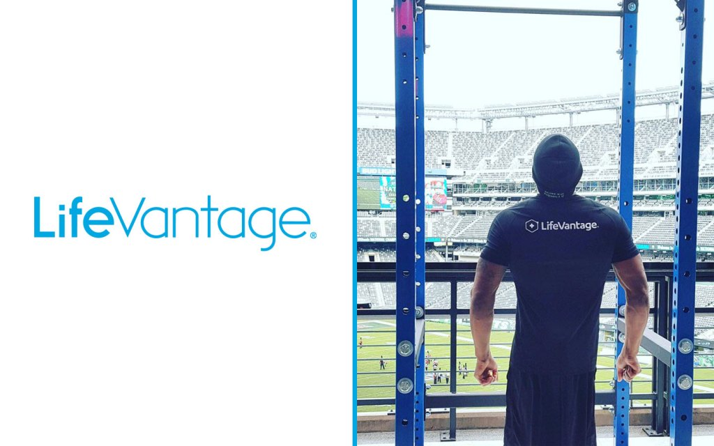 LifeVantage - Sponsored Anthony Robles Sets New World Record