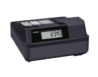 Rear view of the Casio SE-G1 - GH585 - Electronic Cash Register