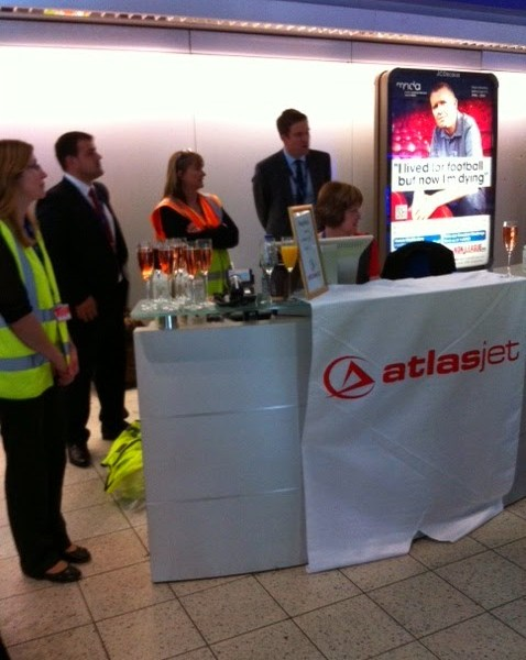 A Day Out At Luton Airport With AtlasGlobal Airlines 1