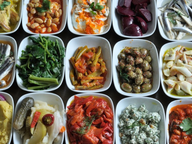 Small Meze Dishes