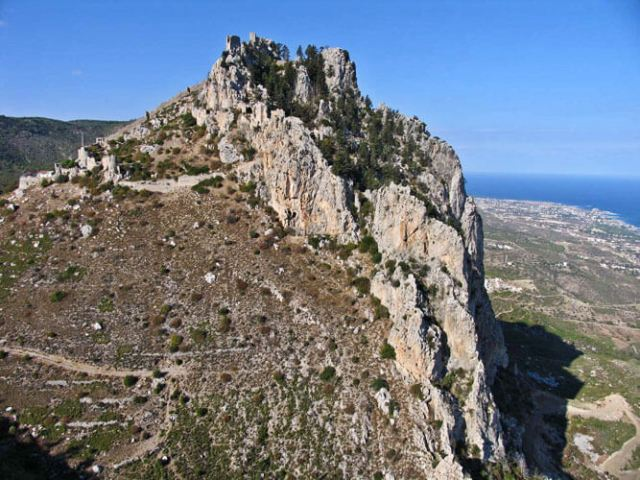 St Hilarion Castle in North Cyprus