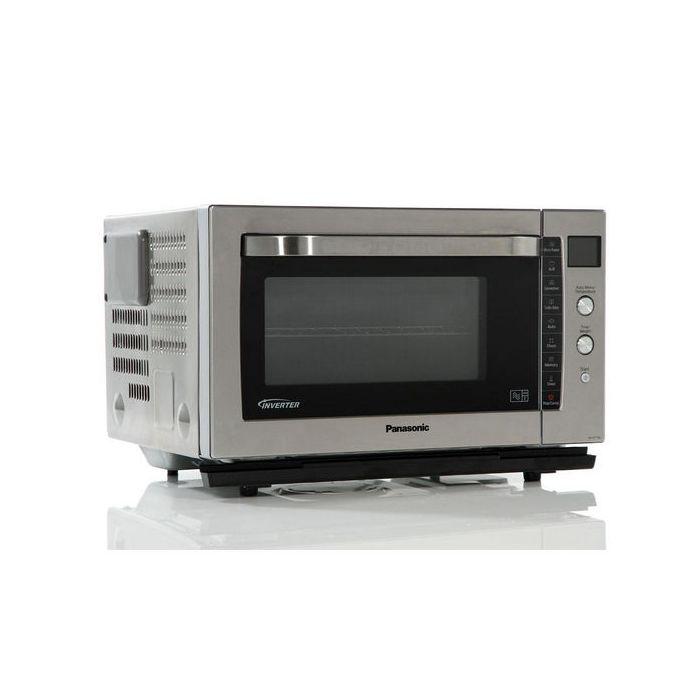 panasonic nn cf778sbpq new 27l 1000w combination inverter microwave oven