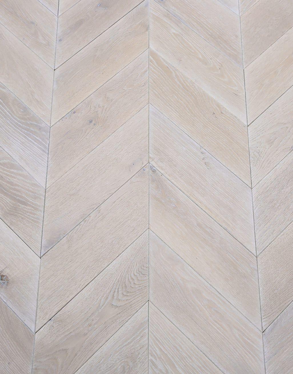 whitewashed oak chevron oak solid wood flooring