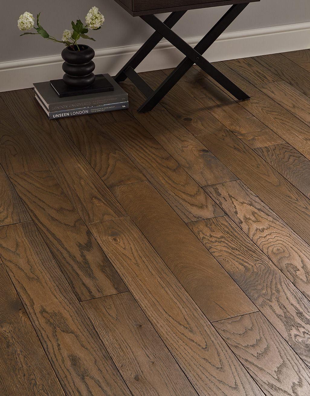 deluxe espresso oak solid wood flooring