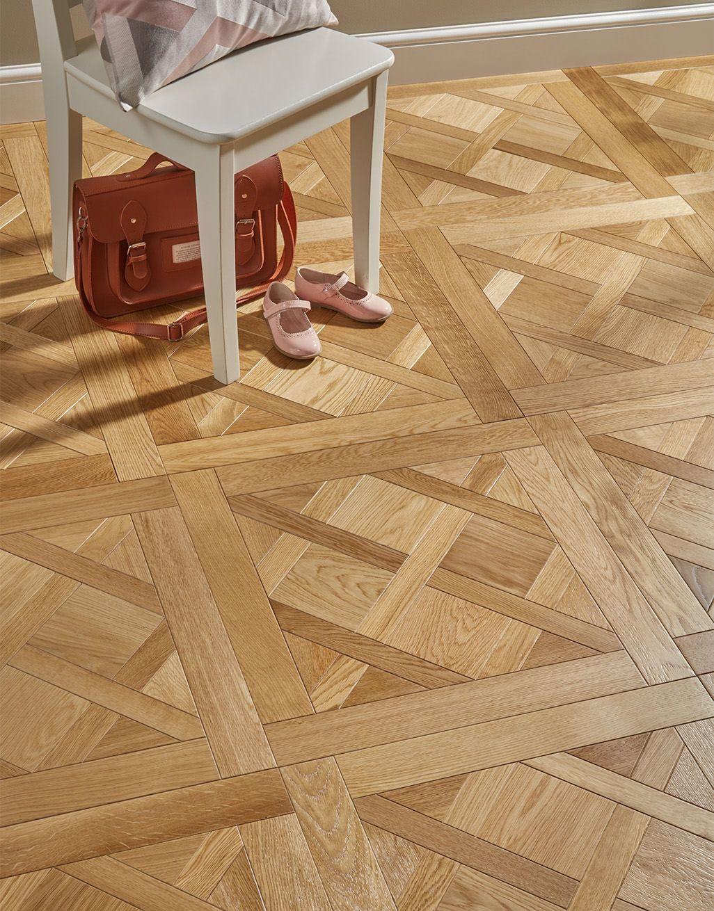 Avignon Natural Oak Brushed Oiled Versailles Tile Engineered Wood Flooring Direct Wood Flooring