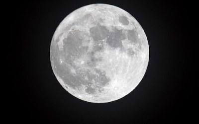 luna piena del 31 gennaio
