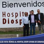 DIRESA Apurímac realiza visita técnica al hospital Diospi Suyana de Curahuasi